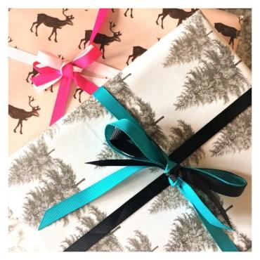 Emballages cadeaux noel