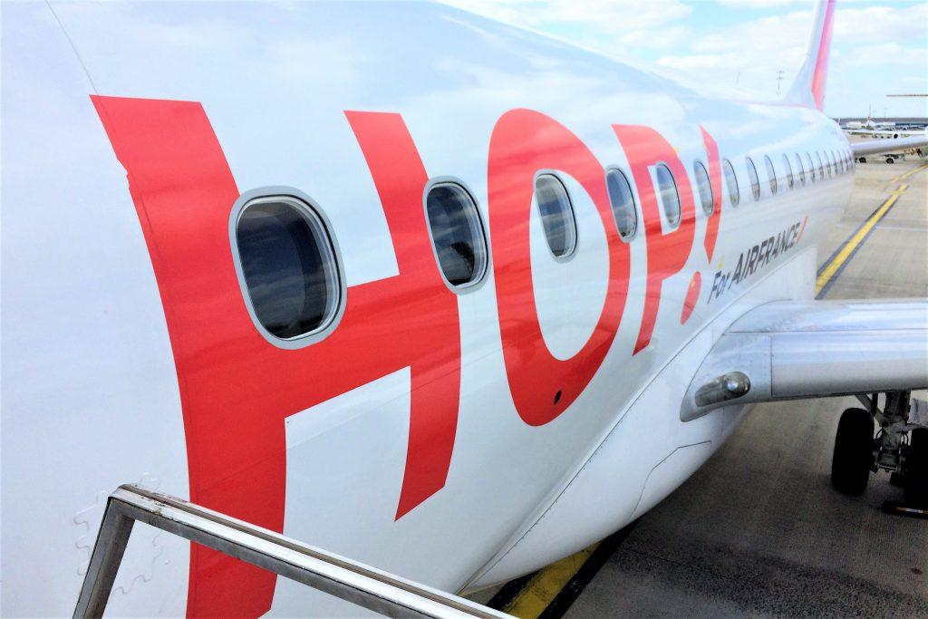 voyage en slovenie avion hop
