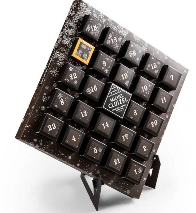 Calendrier Avent chocolat Michel Cluizel 2017