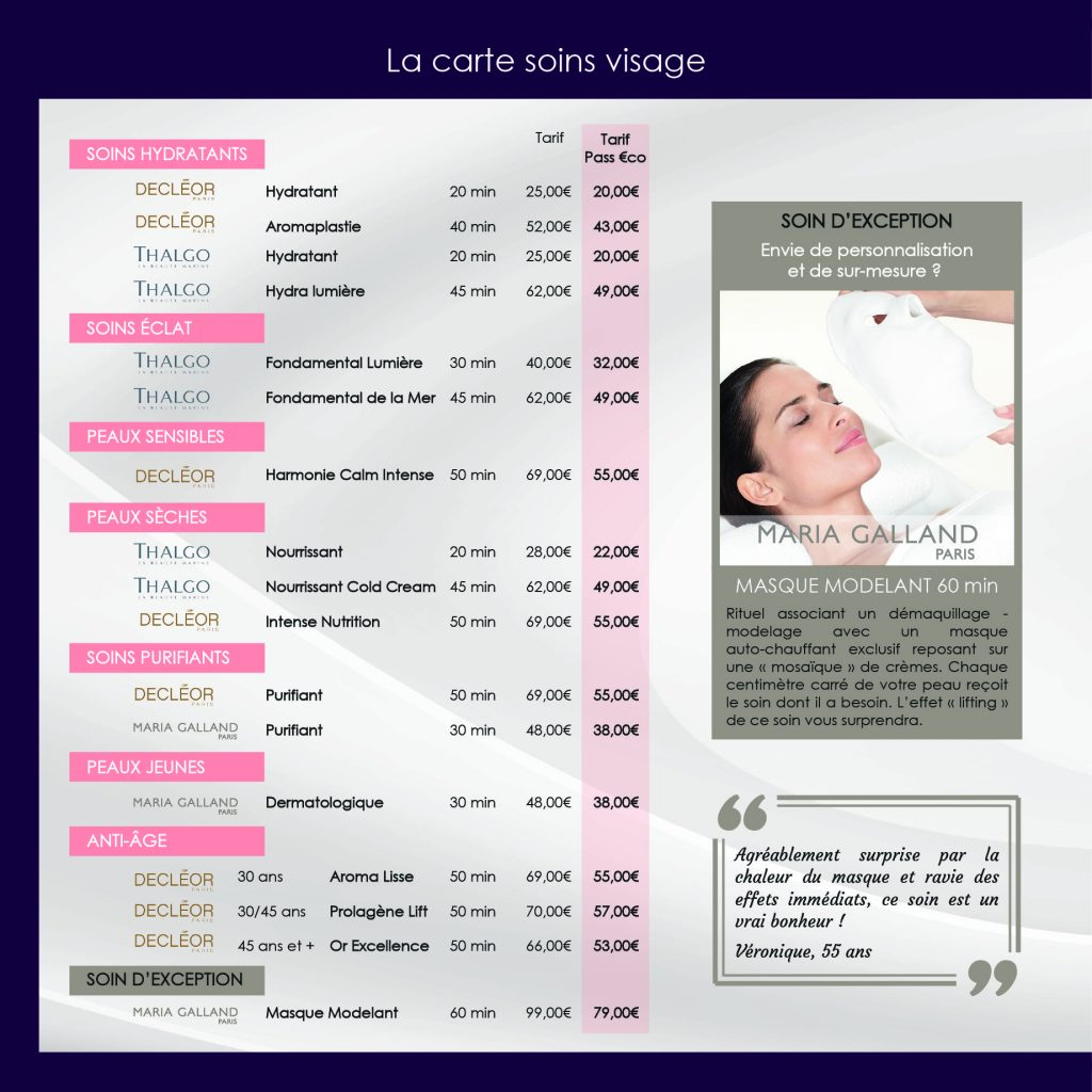 carte des soins CARLANCE