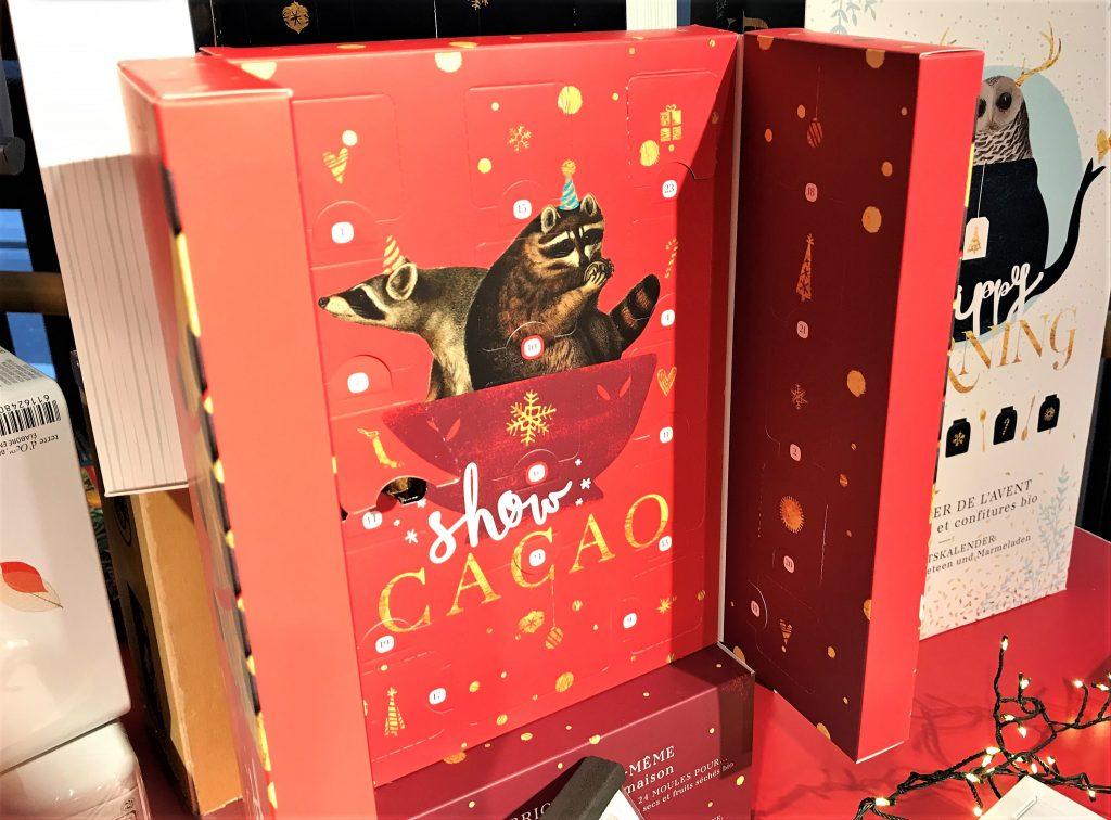 Nature et decouvertes calendrier avent 2017 show cacao