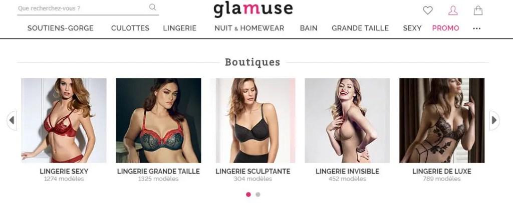 eshop Glamuse