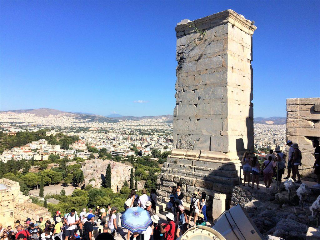 voyage en Grèce athenes acropole 1