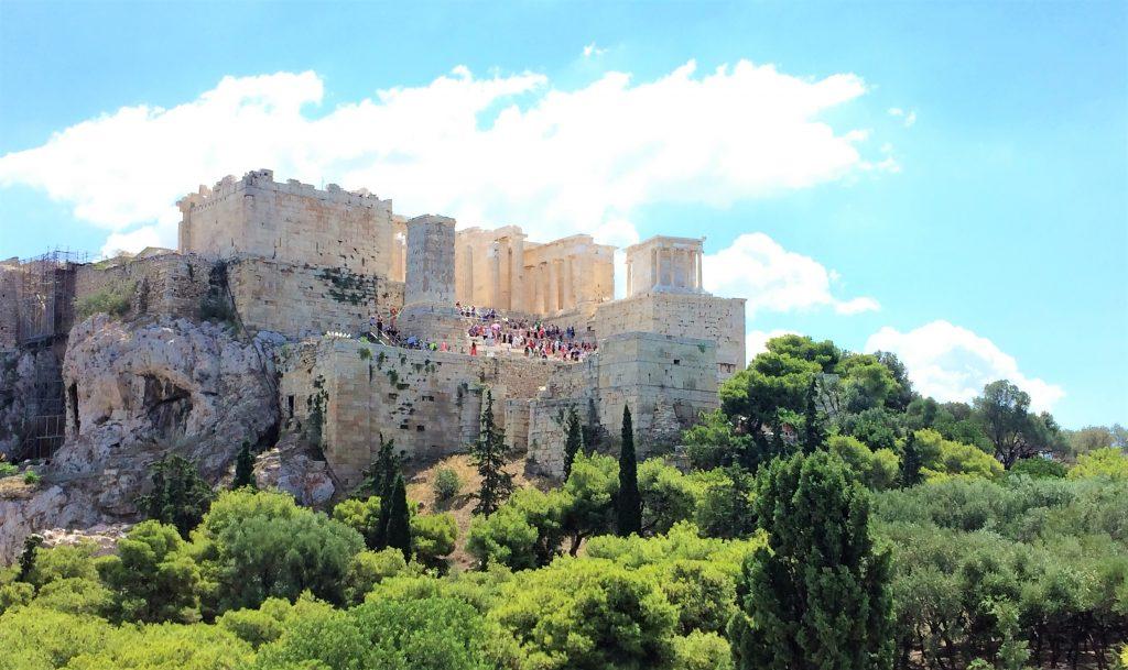 voyage en Grèce athenes acropole 3