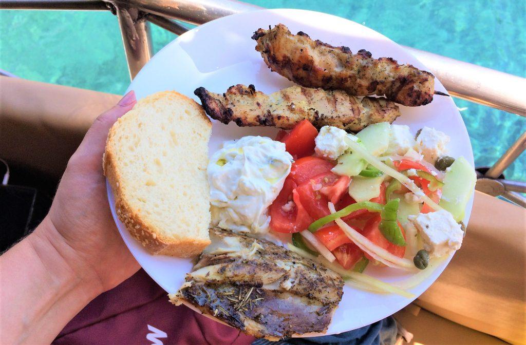 voyage en Grèce paros journee en mer