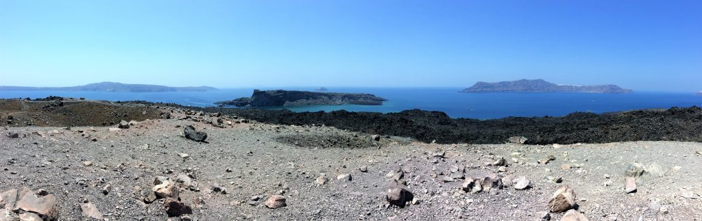 voyage en Grèce santorin volcan
