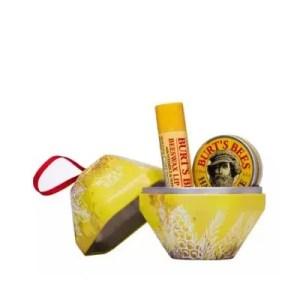 BURT'S BEES – Coffret cadeau boule jaune