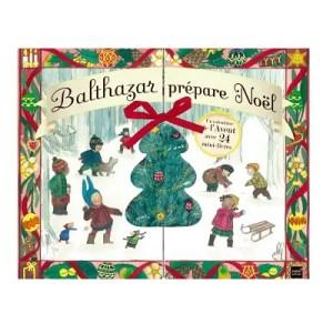PEDAGOGIE MONTESSORI – Calendrier de l'Avent Livres Balthazar prépare Noël