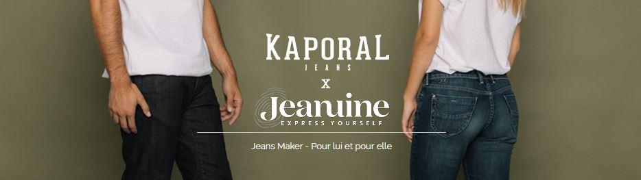 KAPORAL Personnalisation jeans femme