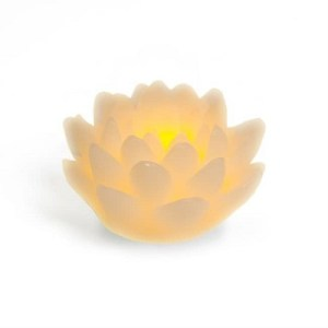 NATURE & DECOUVERTES – Bougie Led Lotus