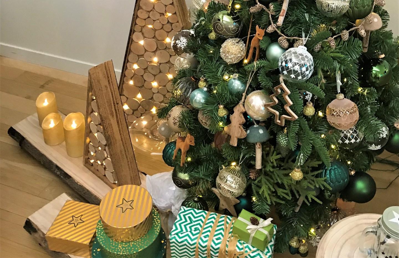 Tendances Et Idees Deco De Noel 2018 Table Sapin Et Salon
