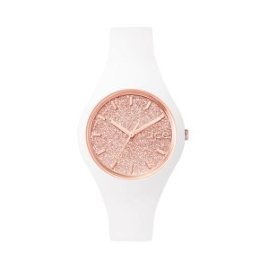 ICE WATCH – Glitter blanc & rose gold