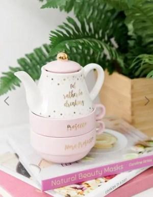 Sass & Belle – Théière et tasses