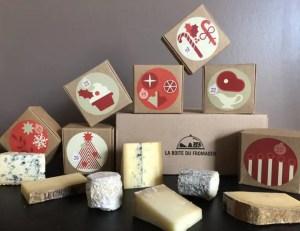 LA BOITE DU FROMAGER – Calendrier de l'avent fromages