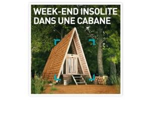 SMARTBOX – Week-end insolite dans une cabane