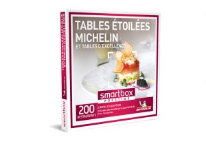 SMARTBOX – Coffret Tables étoilées Michelin et tables d'excellence