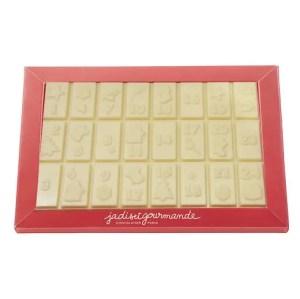 JADIS & GOURMANDE – Calendrier de l'avent chocolats blancs