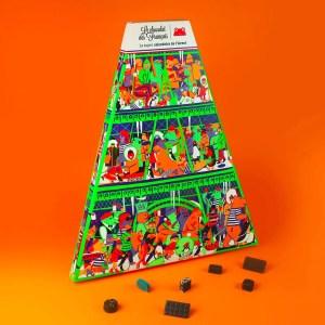 LE CHOCOLAT DES FRANCAIS  – Calendrier de l'avent 2018