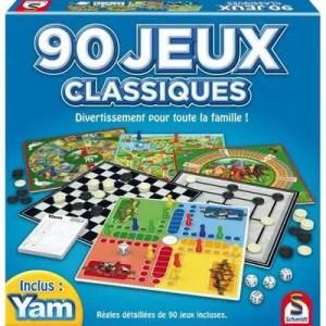 SCHMIDT – Coffret 90 jeux classiques