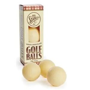 MR STANLEY'S – Balles de golf en chocolat blanc