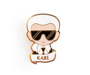 ETSY – PIN'S Karl Lagerfeld