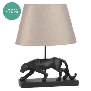 MAISONS DU MONDE – Lampe Black pantera