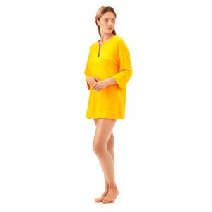 VILBREQUIN – Tunique en eponge jaune