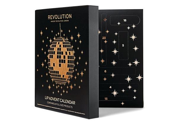 MAKEUP REVOLUTION Lip Advent calendar 2019 long