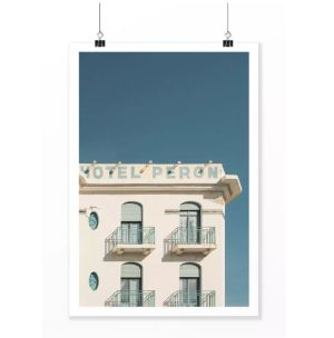 THE COOL REPUBLIC – Affiche Hotel Peron