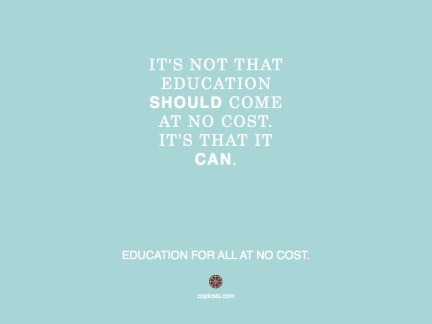 Education should.001