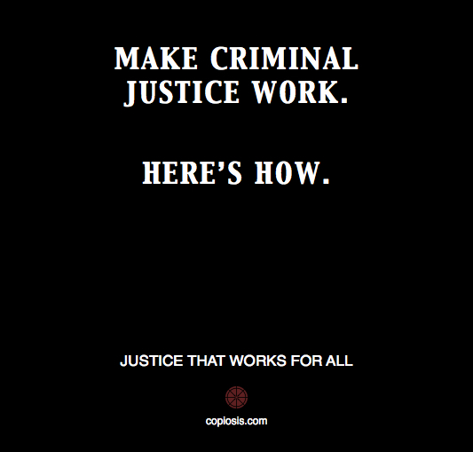 MAKE CRIMINAL JUSTICE WORK.001