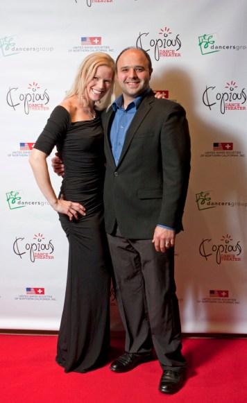 Copious Dance Theater 2014 Benefit Soirée Kat Roman and Kris Vassallo