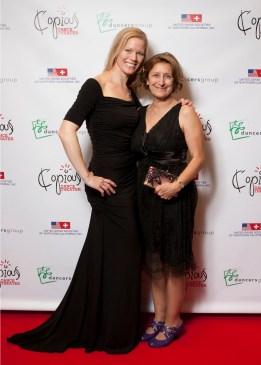 Copious Dance Theater 2014 Benefit Soirée Valeria and Kat Roman