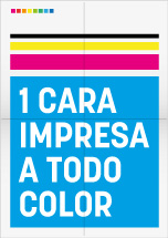 Impresión Color 1 Cara