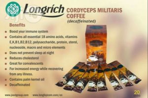 Cordyceps Militaris Coffee
