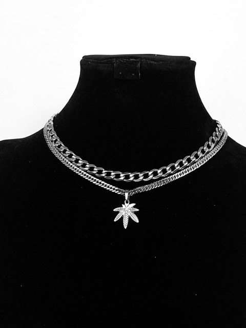 Weed Set Necklace