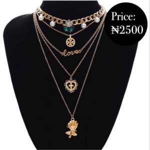 Multi Layered Necklace Set