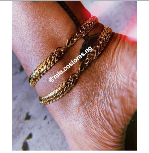 Mos Double Anklets