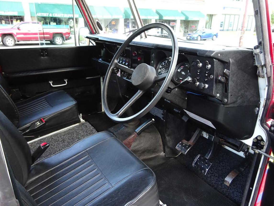1981 Land Rover Stage One V8 Fire Truck Copley Motorcars