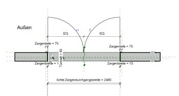 2019 02 08 11h42 20 - Holztür, 2Fl., Glasrahmen, Umfassungszarge