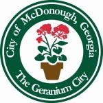 City of McDonough Georgia, The Geranium City