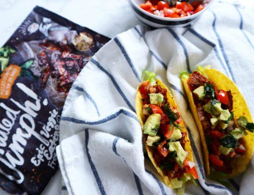 Vegan Oumph tacos