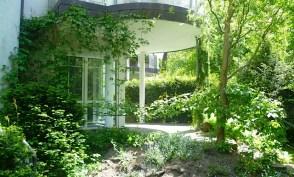 Sonnige Terrasse der Maisonette-Eigentumswohnung in Berlin Waidmannslust