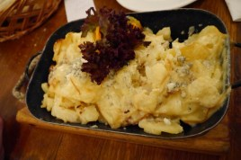 Potatoes and cheese always a winner