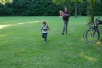 Foot races with handicap