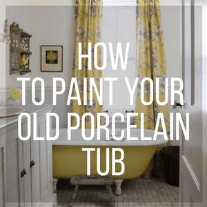 How To Paint Your Porcelain Tub Copper Mechanical Ltd