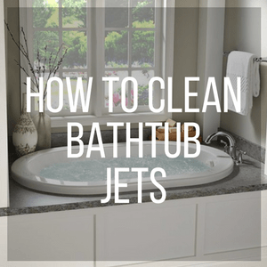 Clean Bathtub Jets Regularly To Keep Your Bath Water Free Of Extra Germs.
