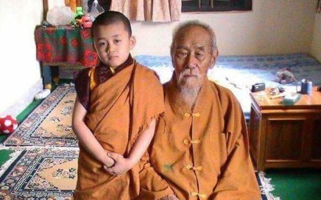5-1-005 Lama Serpo and his grandson_