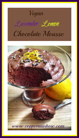 A rich but airy vegan mousse made from chickpea brine