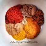 A beautiful mixture of warming spices